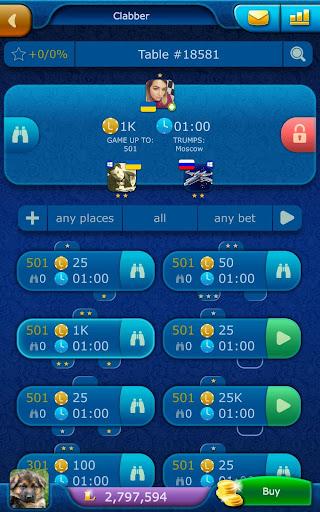 Clabber LiveGames - free online card game screenshots 11