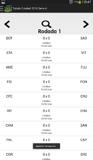 Tabela Brasileirão 2016|玩運動App免費|玩APPs