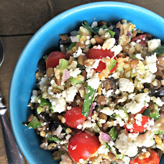 Lentil Tomato Cucumber Salad Recipes