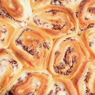 Chocolate Custard Rolls