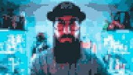 Pixelated Portrait - Zoom Background item