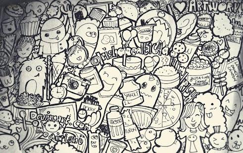 Art Doodle Cool - náhled