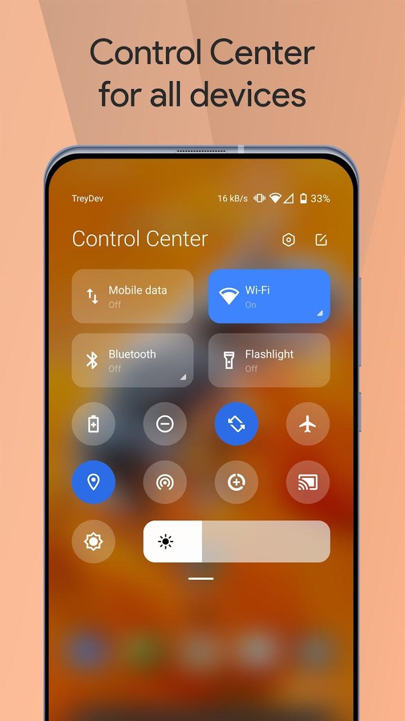 Mi Control Center: Notifications and Quick Actions v3.7.4 [Premium] [Latest]