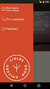 Fields Good Chicken Ordering- screenshot thumbnail