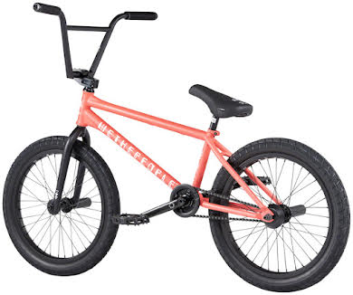 "We The People Battleship BMX Bike - 20.75"" TT, Matte Coral Red, Left Side Drive alternate image 9"
