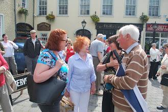 Photo: Karen Preston, Pat and Paddy Dalton outside of Dooley's Hotel