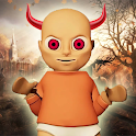 Tricks Scary Baby Yellow Child Horror icon