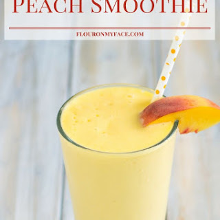 Peach Smoothie.