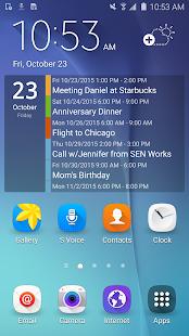 Clean Calendar Widget Pro Screenshot 1