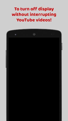 Black Me - Screen Off for YouTube 1.1 screenshots 3
