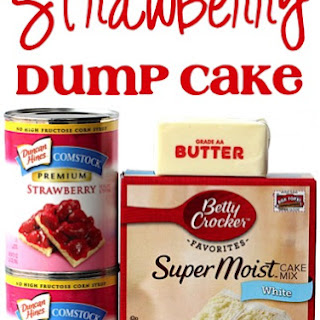 Strawberry Pie Filling Dump Cake Recipes