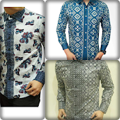 Batik Shirt Design Modern Man