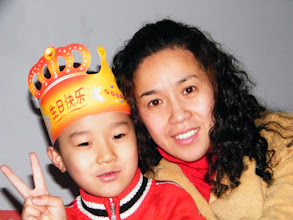 Photo: baby son, warrenzh, 朱楚甲 with his proud mom, emakingir.