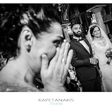 Wedding photographer MAXOS KAPETANAKIS (MAXOSKAPETANAKI). Photo of 17.01.2017