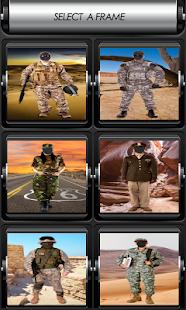 armáda fotomontáž - náhled