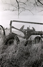 Photo: Back of mouldboard plow
