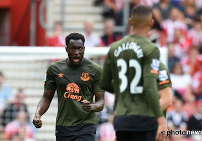 Romelu Lukaku scoort twee keer voor Everton tegen Southampton