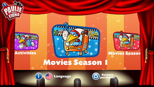 Paulie and Fiona Movie App screenshot