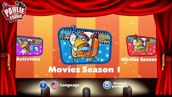 Paulie and Fiona Movie App - náhled