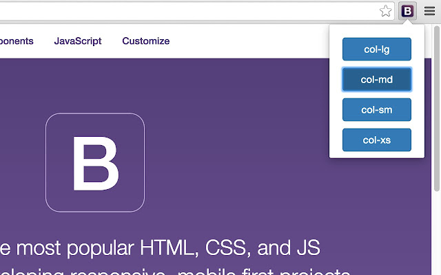Bootstrap 3 Resize Tool