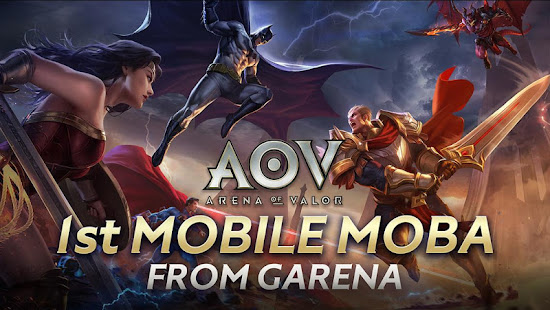 Mod Game Garena AOV - Arena of Valor 1.27.1.2 FULL FREE