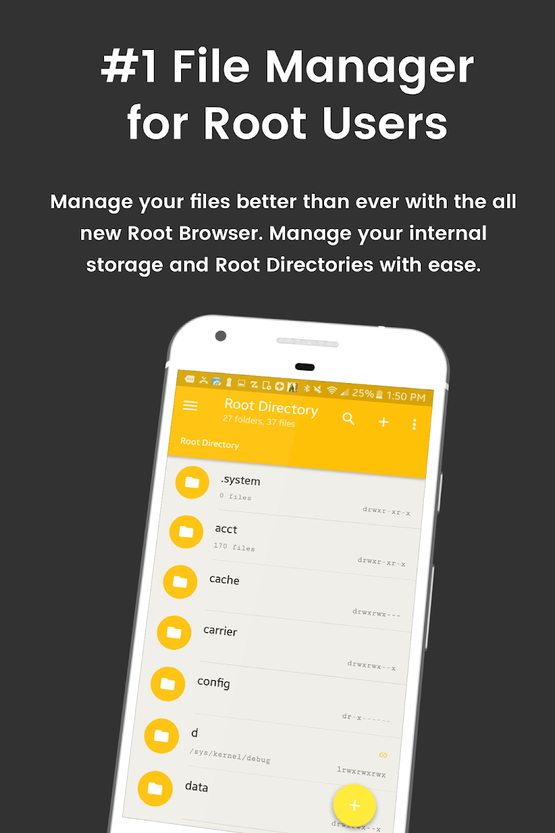 File Explorer Root Browser Screenshot 0