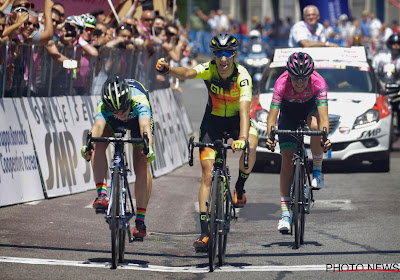 Borghesi wint vierde rit in Giro Rosa nadat Quagliotto te vroeg juicht