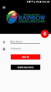 Rainbow FCU Mobile- screenshot thumbnail