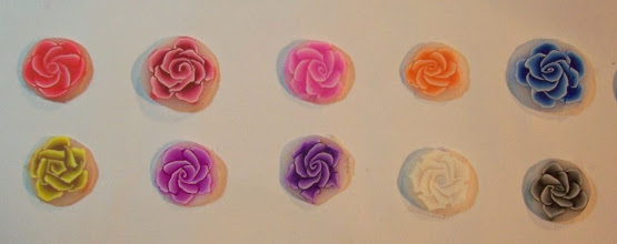 Photo: Learn how to make a Rose Cane. We will use leaf, Violet and Rose canes to make beads.Pick your rose color 3oz, white and translucent. 2oz each. Third day 1st project.