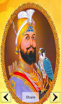 Guru Gobind Singh Ji Wallpaper By Nriapps Poster