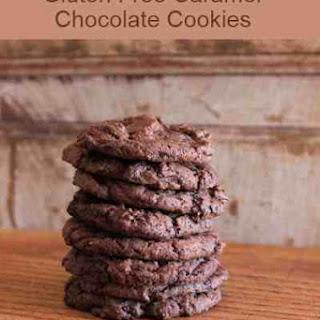 Gluten Free Caramel Chocolate Cookies