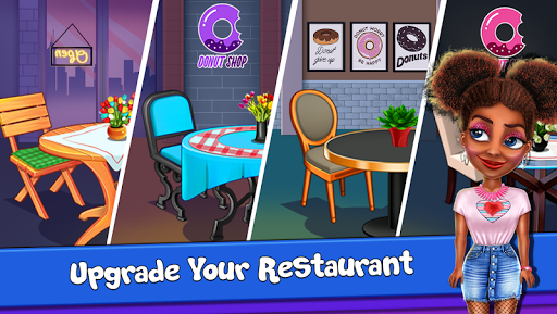 Donut Truck - Cafe Kitchen Cooking Games filehippodl screenshot 22