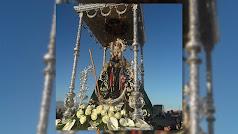 El templete de la Virgen del Mar.