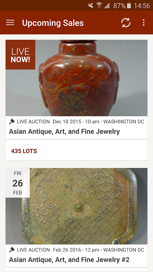 Capitoline Auction Gallery- screenshot