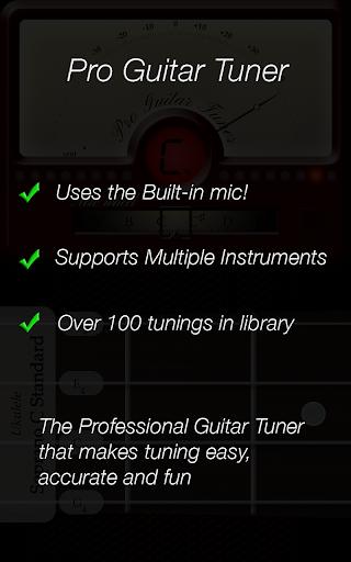 Pro Guitar Tuner 3.1.3 screenshots 10