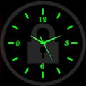 Glowing Clock Live Locker icon