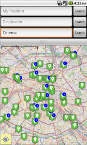 OSMNavigator screenshot 1