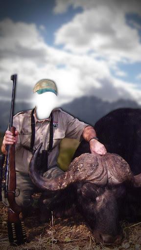 良好的狩猎照片蒙太奇