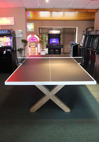 Bespoke Black & White Table Tennis Table