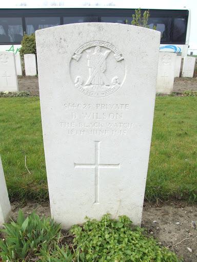 David Wilson grave