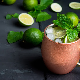 Molly Sims' Skinny Moscow Mule.