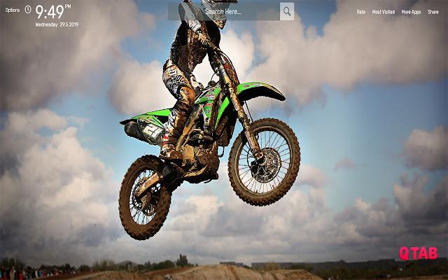 Motocross Wallpapers HD Theme