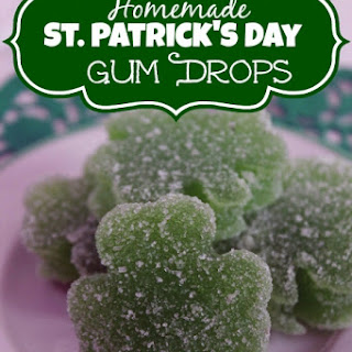 Homemade St. Patrick's Day Gum Drops