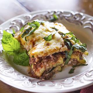 Parmesan Zucchini Lasagna – Trim Healthy Mama Compliant