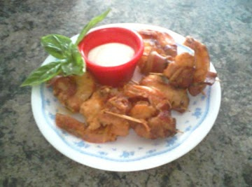 2 Cheese Bacon Wrapped Shrimp Recipe
