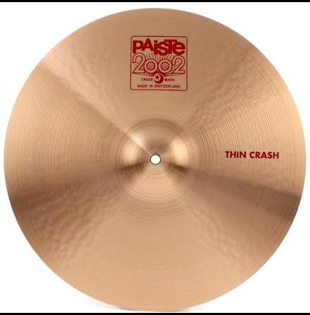 """18"""" Paiste 2002 - Thin Crash"""