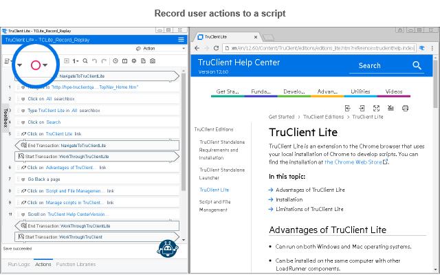 TruClient Lite for Chrome