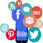 """All In One Social Media """"Fast"""" icon"""