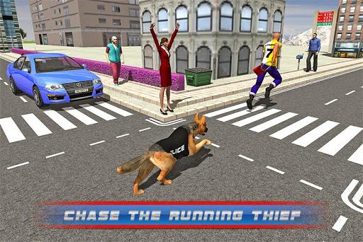 街の犯罪者VS警察犬