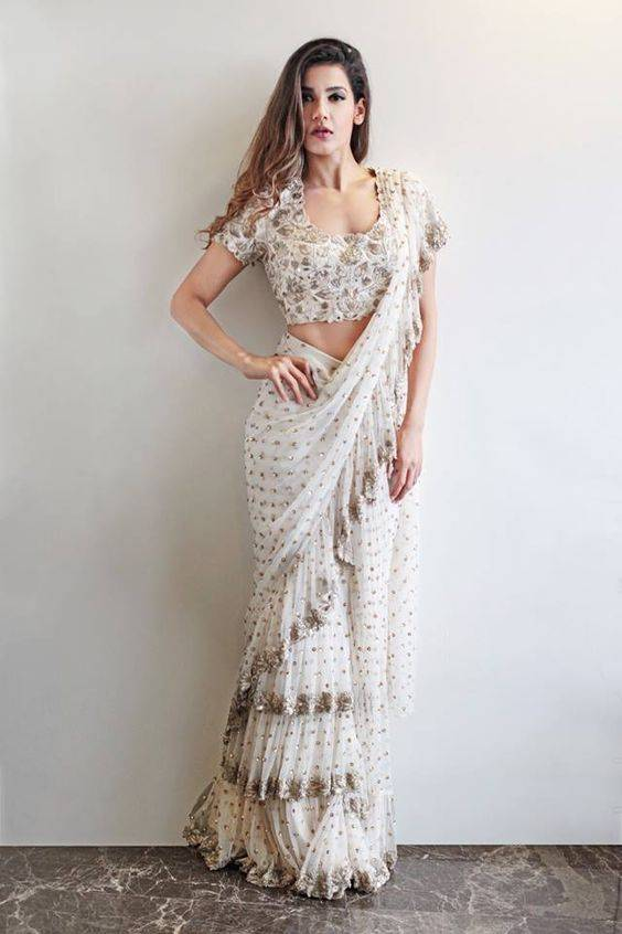 best-wedding-sarees-india-white-saree-image